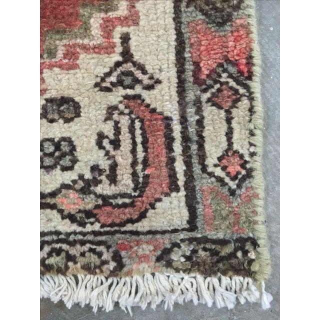 Hamadan Persian Rug - 1′9″ × 2′5″ - Image 7 of 9