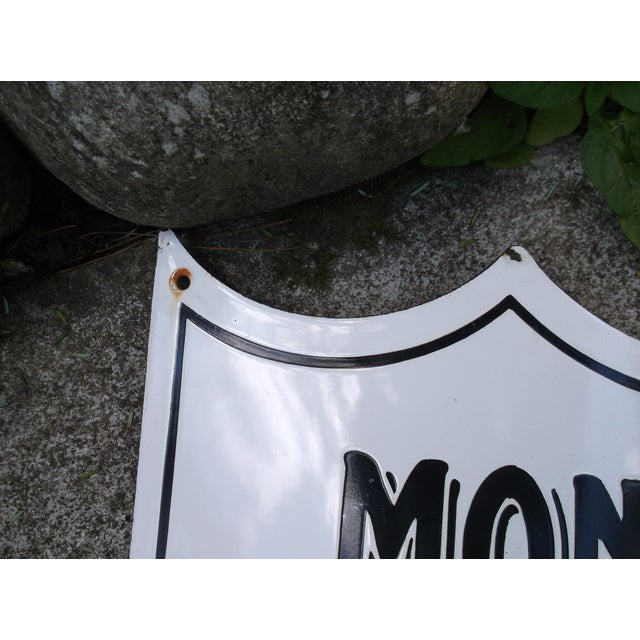 "Vintage French ""Mon Jardin"" Garden Sign - Image 4 of 5"