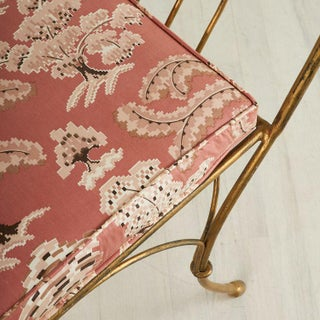 French Gilt Bench With Ram's Head Motif Preview