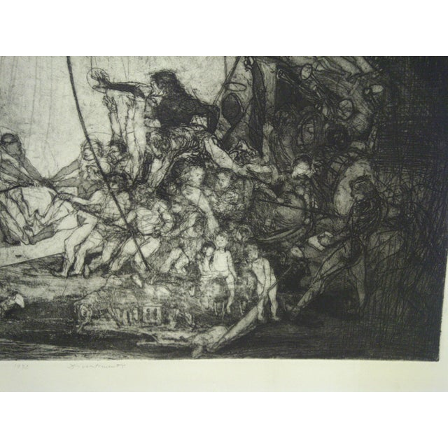 """Mid-Century Modern Mid 20th Century Vintage """"Divertimenti"""" Print by Ivan Valtchew For Sale - Image 3 of 8"""