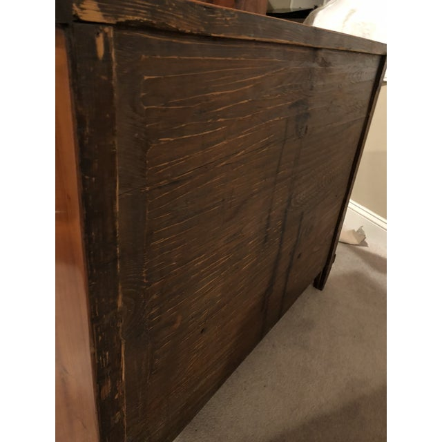 19th Century Biedermeier Cherry Wood Commode For Sale - Image 4 of 10