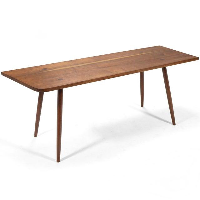 Robert Lovett Walnut Studio Craft Table/ Desk For Sale - Image 10 of 11