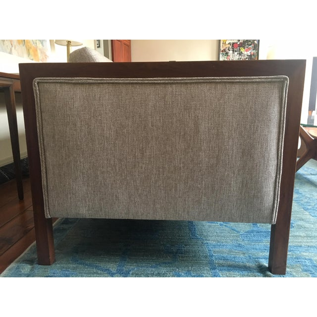 Mid-Century Modern Four Seat Long Sofa by Dux For Sale - Image 9 of 13