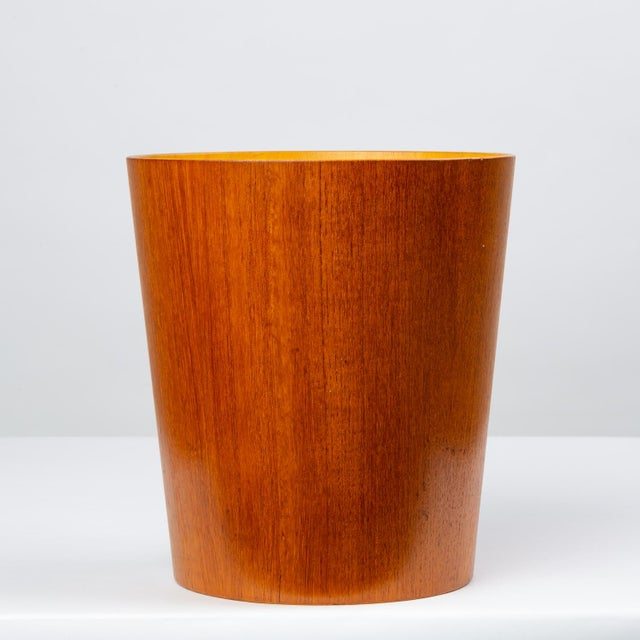 Rainbow Wood Products Teak Wastebasket by Martin Åberg For Sale - Image 10 of 10