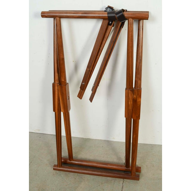 Brown Modern Richard Wrightman Matthiessen Walnut Coffee Table For Sale - Image 8 of 10