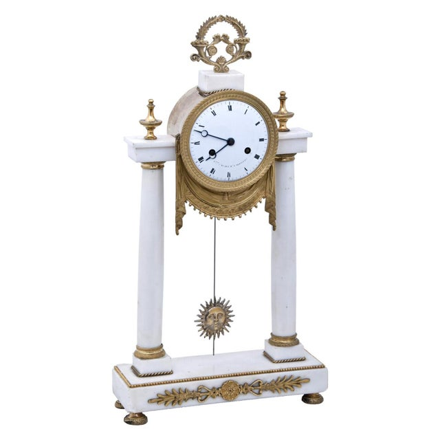 19th Century French Mantel Clock For Sale - Image 11 of 11