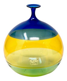 Image of Blue Vessels and Vases