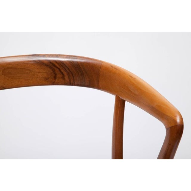 Pair of Bertha Schaefer Walnut Armchairs for Singer & Sons For Sale - Image 10 of 10