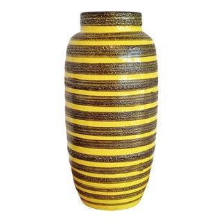 1960s Scheurich Keramik Floor Vase For Sale