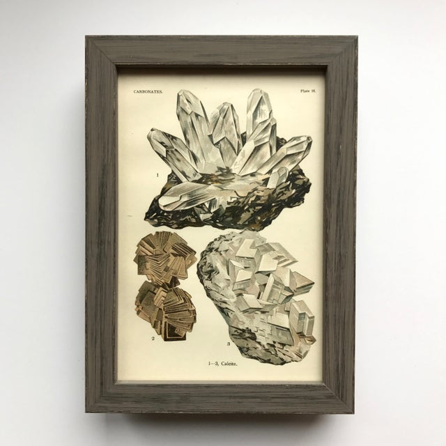 C Print Early 20th Century Antique Mineral Print Collection - Set of 40 For Sale - Image 7 of 12