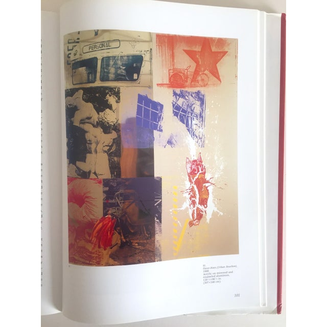 """Cardboard """"Robert Rauschenberg"""" 1st Edition Vintage 1999 Collector's Art Book For Sale - Image 7 of 11"""
