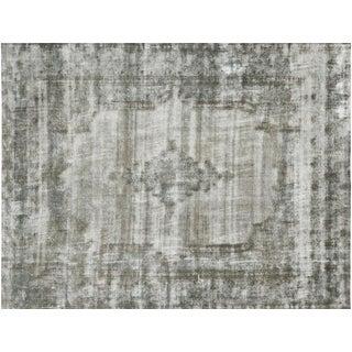 "Nalbandian - 1950s Persian Kerman Overdyed Carpet - 9'8"" X 12'6"" For Sale"