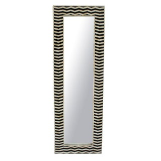 Zig Zag Inlay Mirror For Sale
