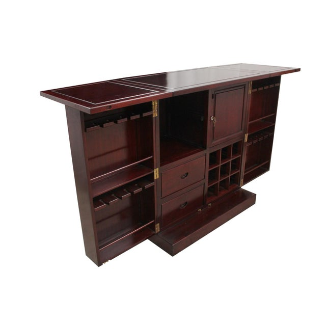 Rosewood Bar and Cabinet - Image 3 of 6