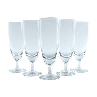 Short Stemmed Champagne Flutes - Set of 5