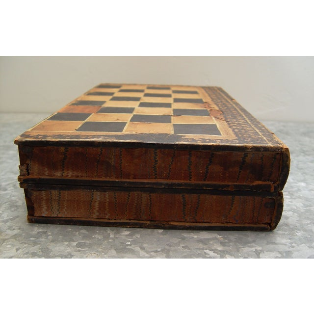 Backgammon Chess Board Book Box - Image 5 of 8