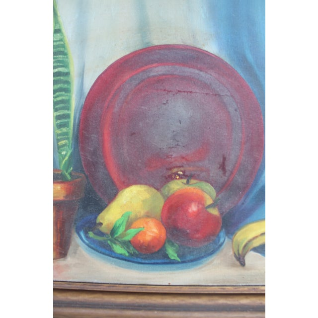 N. Jacobs Still Life Oil Painting For Sale In Miami - Image 6 of 11