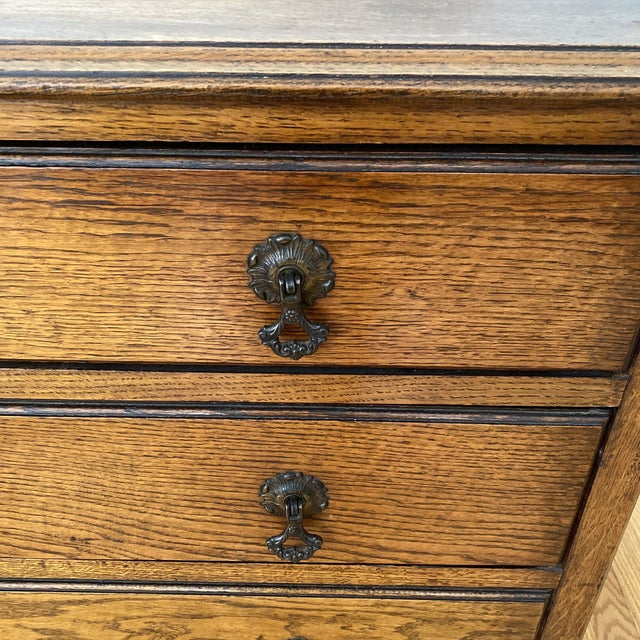 Antique English Chest of Drawers For Sale - Image 11 of 12