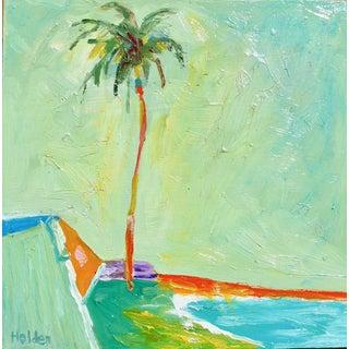 Seascape of California Beach Palm For Sale