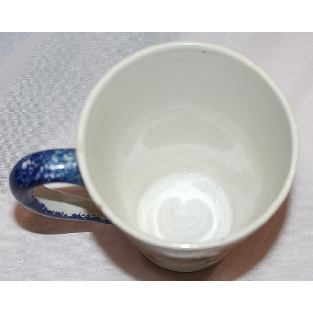 Henriot Quimper Faience Coffee Mug For Sale - Image 5 of 6