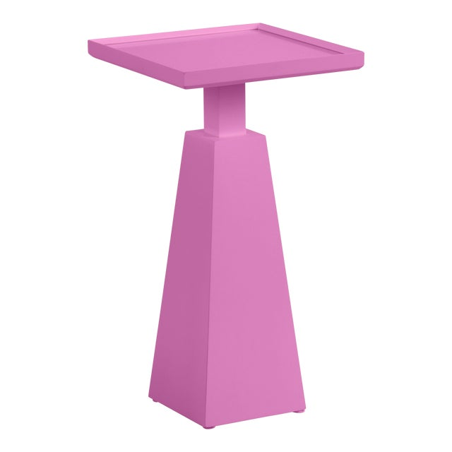 Casa Cosima Hayes Spot Table, Lilac Pink For Sale