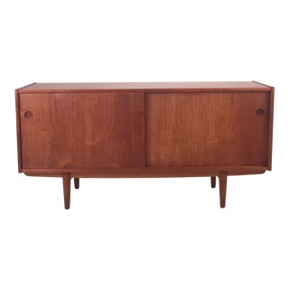Vintage Teak Medium Sideboard For Sale