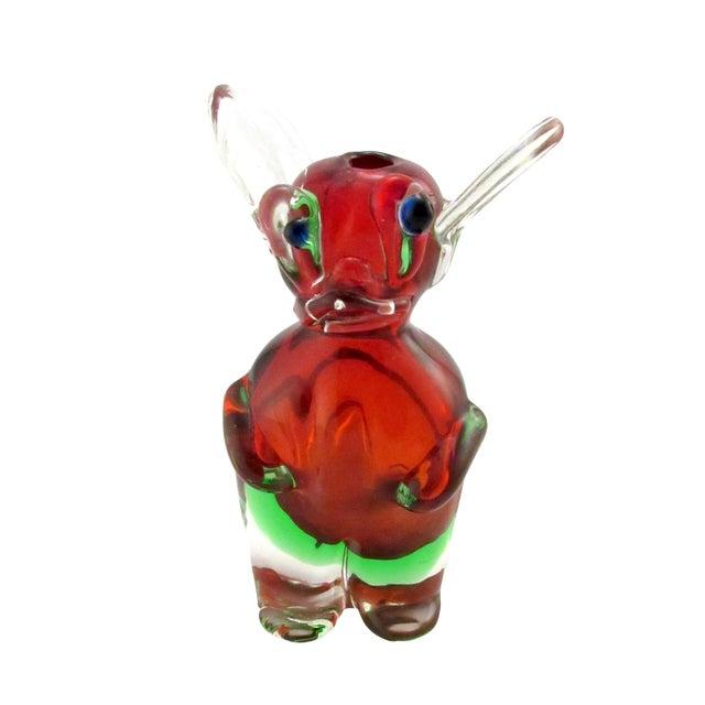 Vintage 1969 Drioli Murano Glass Liqueur Bottle For Sale