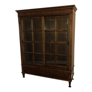 Ethan Allen Ashton Curio Cabinet For Sale