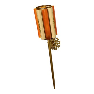 Large Castle Torch Light Wall Lamp For Sale