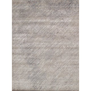 Pasargad Cosmo Collection Silk & Wool Area Rug - 8′10″ × 12′2″ For Sale