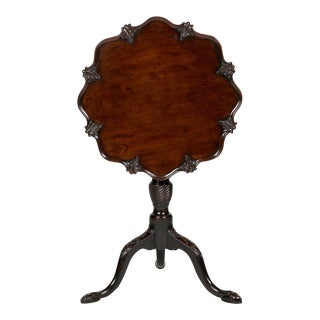 George III Mahogany Tilt-Top Candlestand