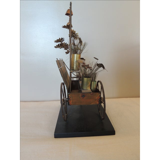 Vintage Curtis Jere Sculpture - Image 6 of 7