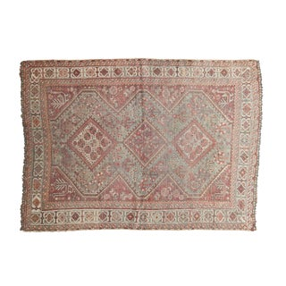 "Vintage Distressed Shiraz Rug - 3'6"" X 5'"
