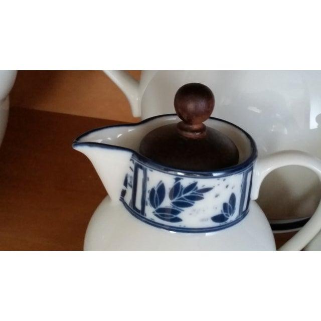 Dansk Ceylon Coffee & Tea Set - Set of 4 - Image 3 of 4