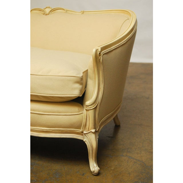 French French Louis XV Style Loveseat Settee For Sale - Image 3 of 7