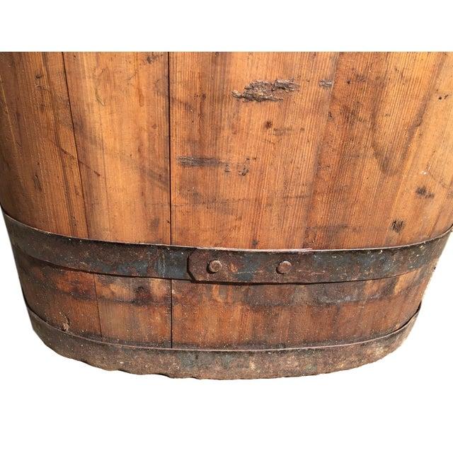 Vintage French Vineyard Barrels For Sale - Image 9 of 10