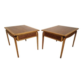 Lane Mid-Century End Tables - A Pair