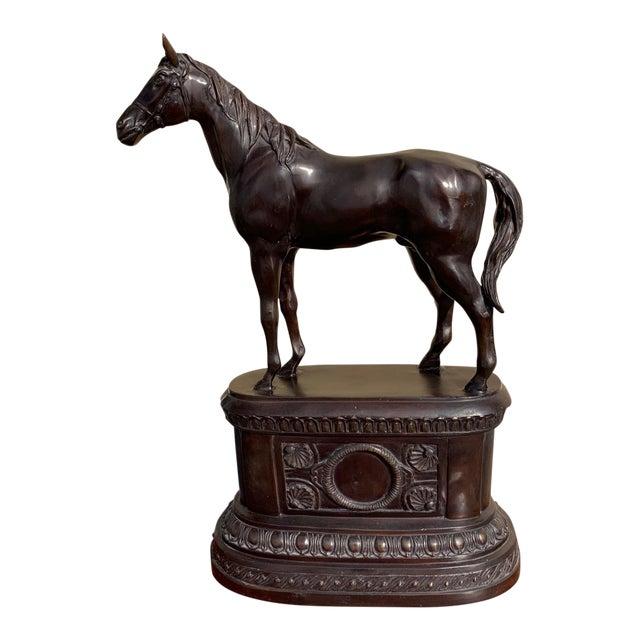 Maitland Smith Equestrian Bronze For Sale