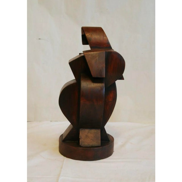Amazing Rare French cubist sculpture in the style of Jacques Lipchitz from the early part of the 20th century marked on...