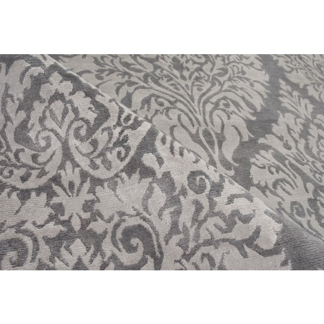 Contemporary Stark Studio Rugs Contemporary Oriental Bamboo Silk Rug - 12' X 15' For Sale - Image 3 of 5