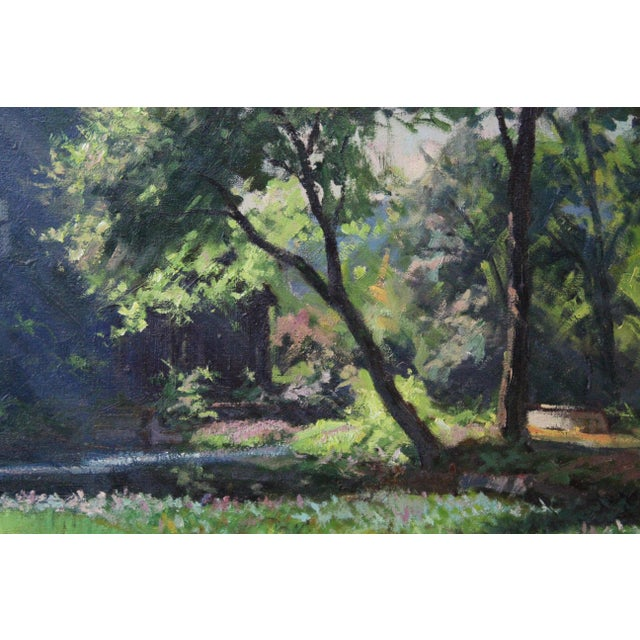 Caddell Spring Forest Painting by Foster Caddell For Sale In New York - Image 6 of 7