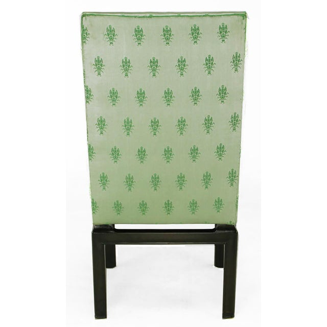 Eight Baker Far East Collection Floating Dining Chairs For Sale In Chicago - Image 6 of 9