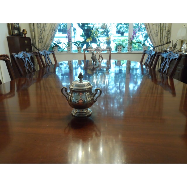 English 1990s Christofle Silver Plated Tea Set - 6 Pieces For Sale - Image 3 of 9