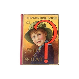 The Wonder Book of Why & What, 1937 For Sale