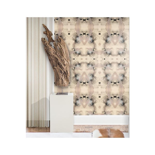 Angela Simeone Bohemian Riff Large Wallpaper For Sale - Image 4 of 5