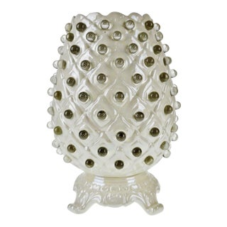 Vintage Millie Reticulated Ceramic Table Lamp