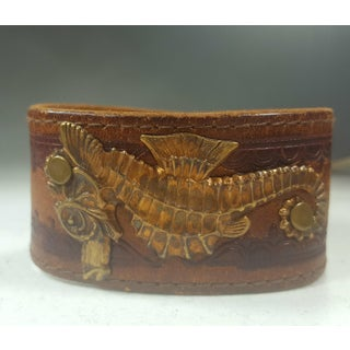 Sea Horse Leather Bracelet Preview