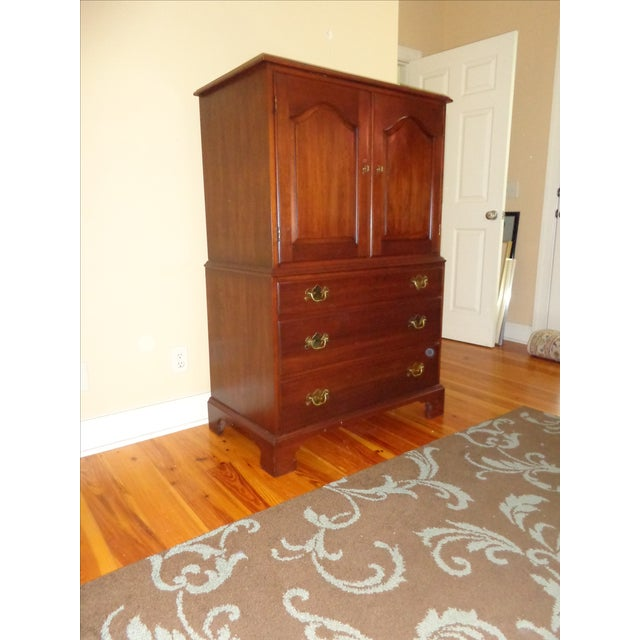 Henkel Harris Black Cherry Gentleman's Chest 173 - Image 3 of 10