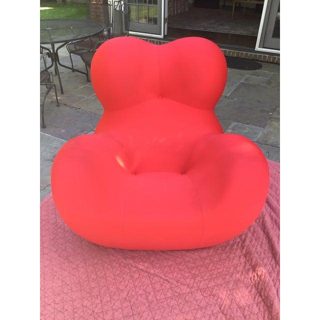 B&b Italia Up Series 2000 Gaetano Pesce Chairs & Ottoman - Set of 3 For Sale - Image 9 of 13