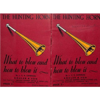 The Hunting-Horn What To Blow and How To Blow It For Sale